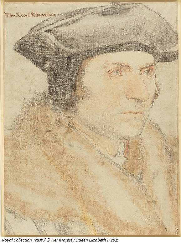 Humber Museums Partnership - Masterpieces in Focus from the Royal Collection: Hans Holbein the Younger, Sir Thomas More (1478-1535), c.1526-7