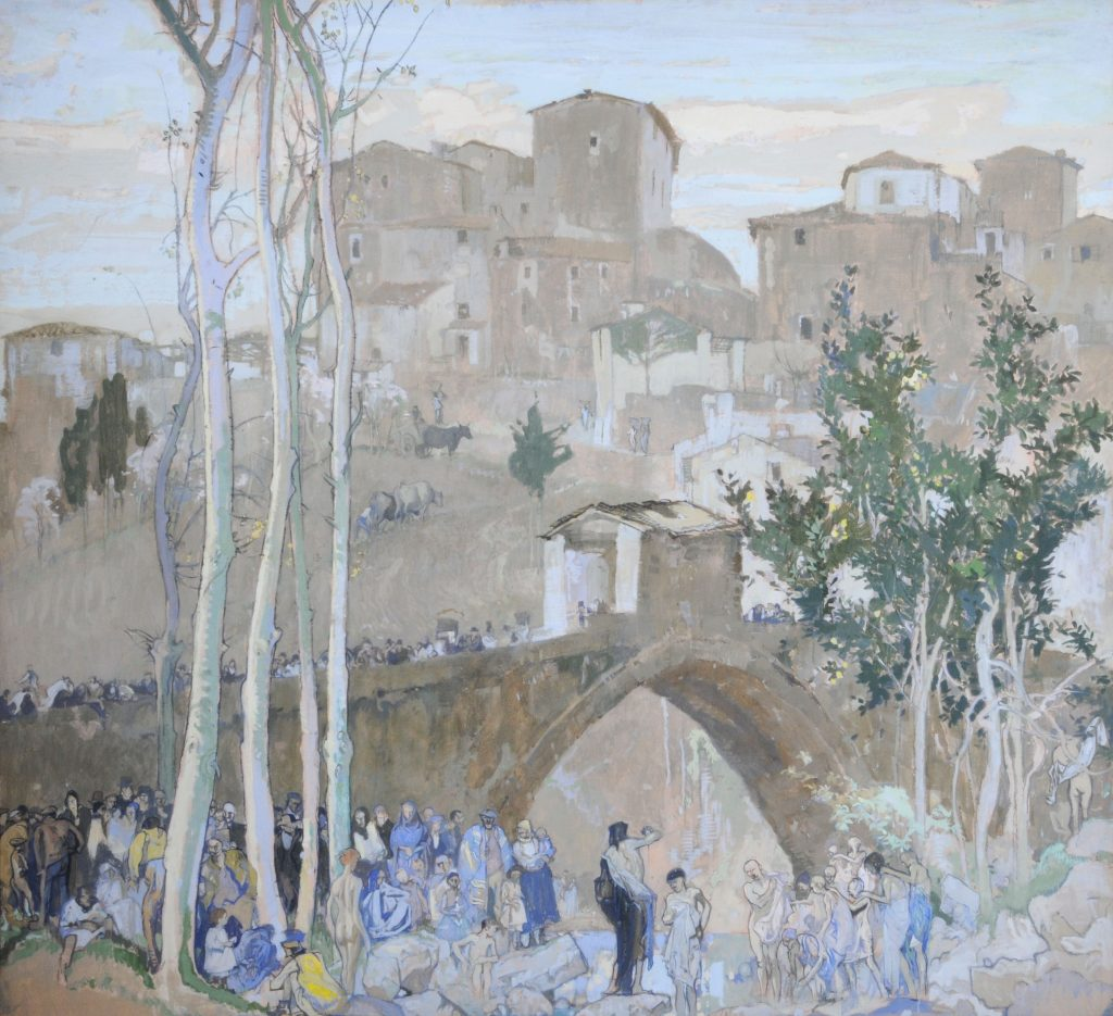 Humber Museums Partnership - Curator's Choice – Pelago, Italy by Frank Brangwyn