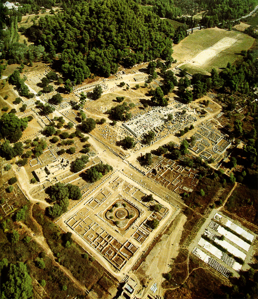 Aerial view of The Altis Grove Olympia