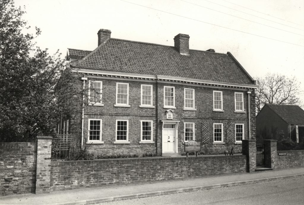 The Old Rectory in Epworth, 1969
