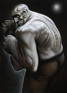 Curator's Choice – Mr Great Heart, Peter Howson, 1997