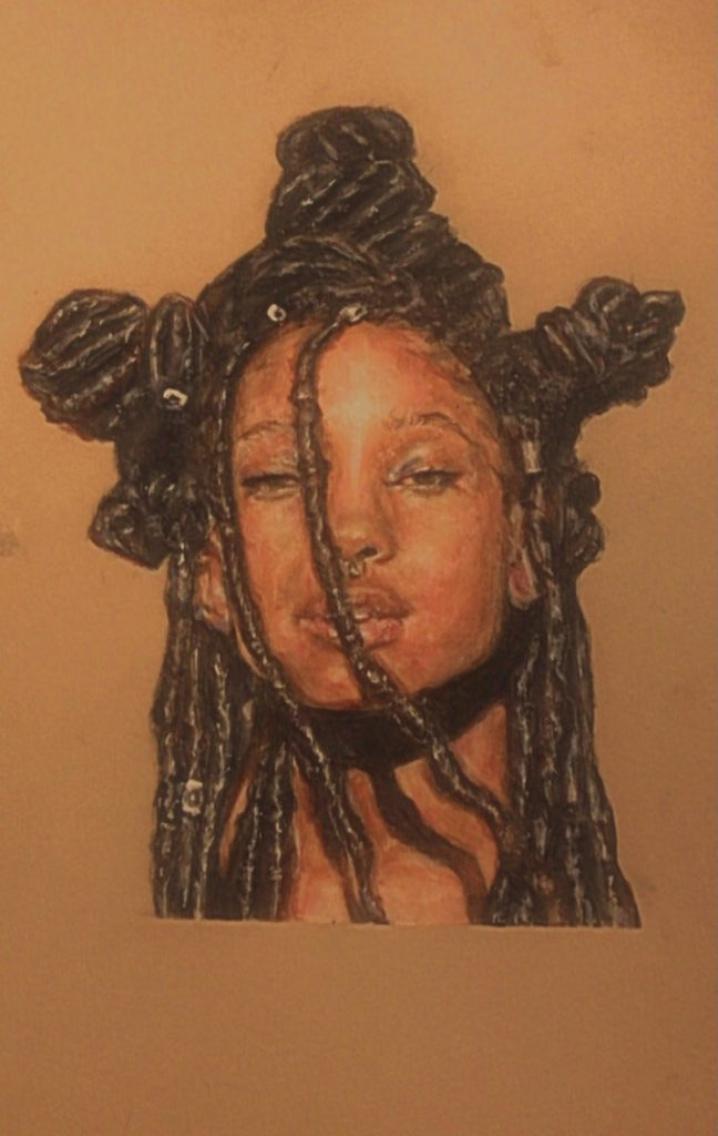 Portrait of Willow Smith.