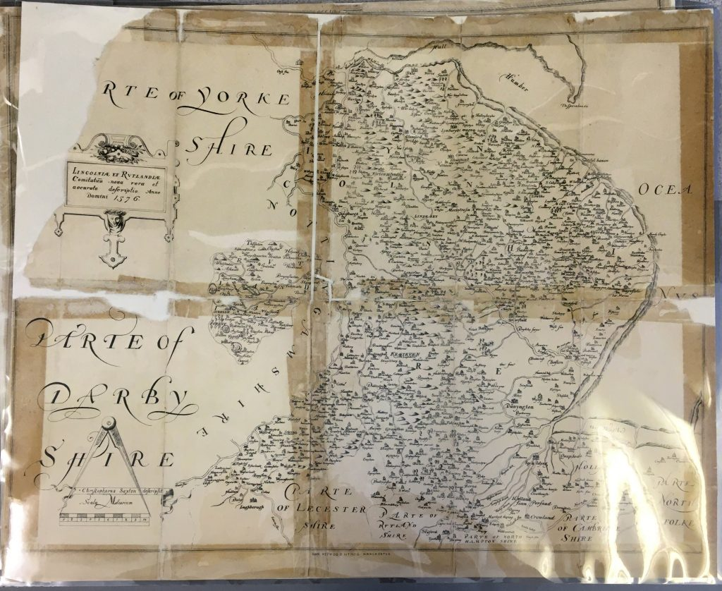 Humber Museums Partnership - Maps Exhibition Development – Part 2: County Maps
