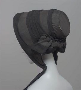 Curator's Choice – Bonnets and Mourning