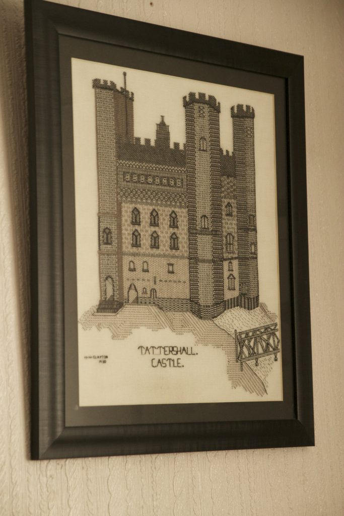 Textile work of Tattershall Castle