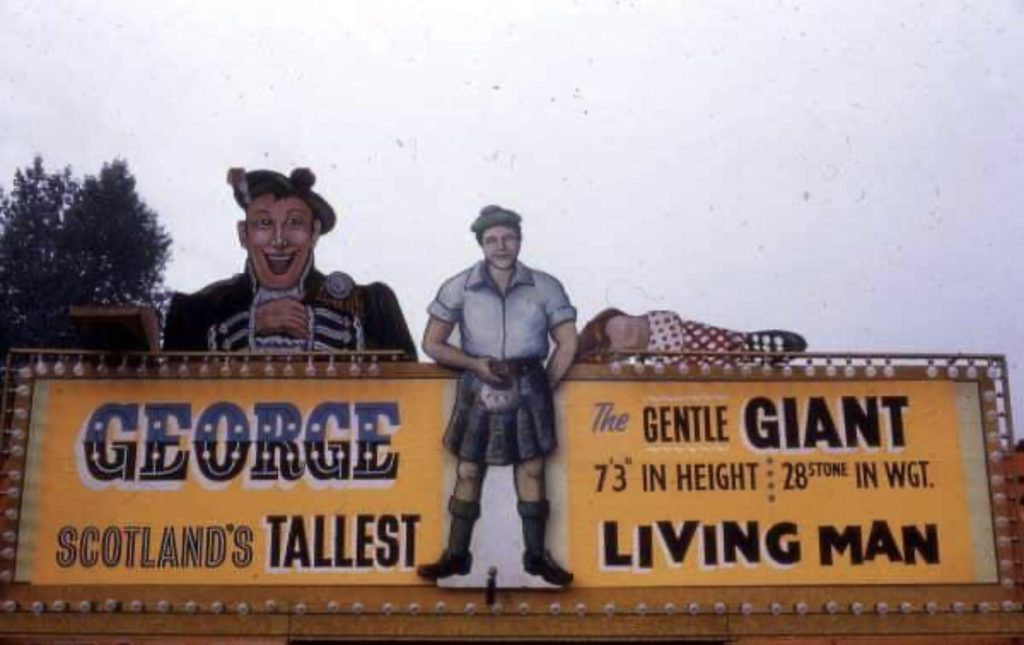 Advertisement for George the Gentle Giant, c. 1970s