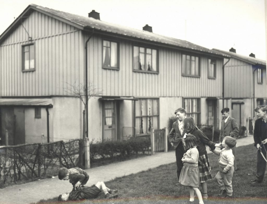 Humber Museums Partnership - 20th Century Architecture: Scunthorpe Pre-fabs