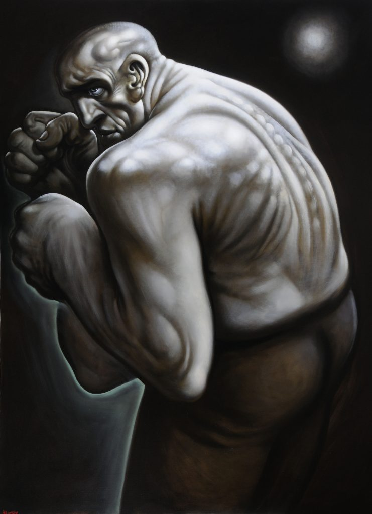 Humber Museums Partnership - Curator's Choice – Mr Great Heart, Peter Howson, 1997