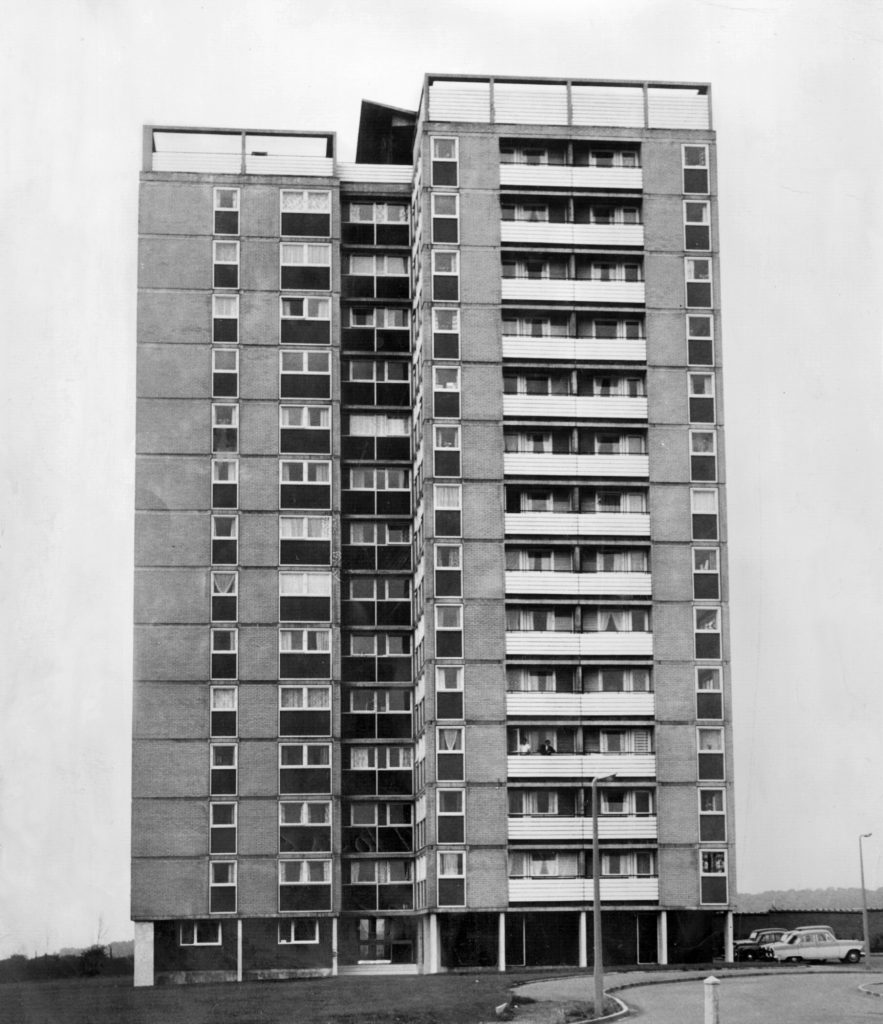 Humber Museums Partnership - 20th Century Architecture: Scunthorpe Tower Blocks