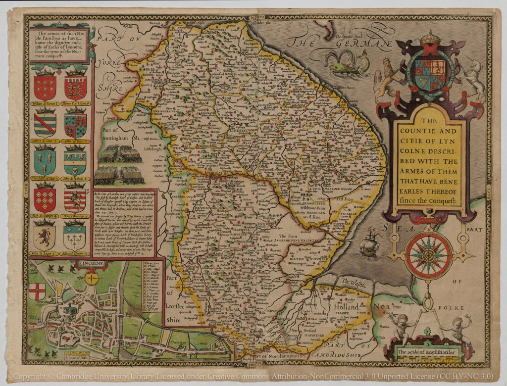 Humber Museums Partnership - Maps Exhibition Development. Part 2: County Maps