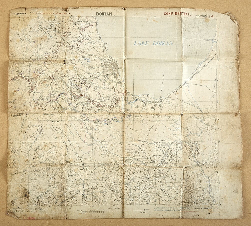 Humber Museums Partnership - Maps Exhibition Development – Part 3: Military Maps
