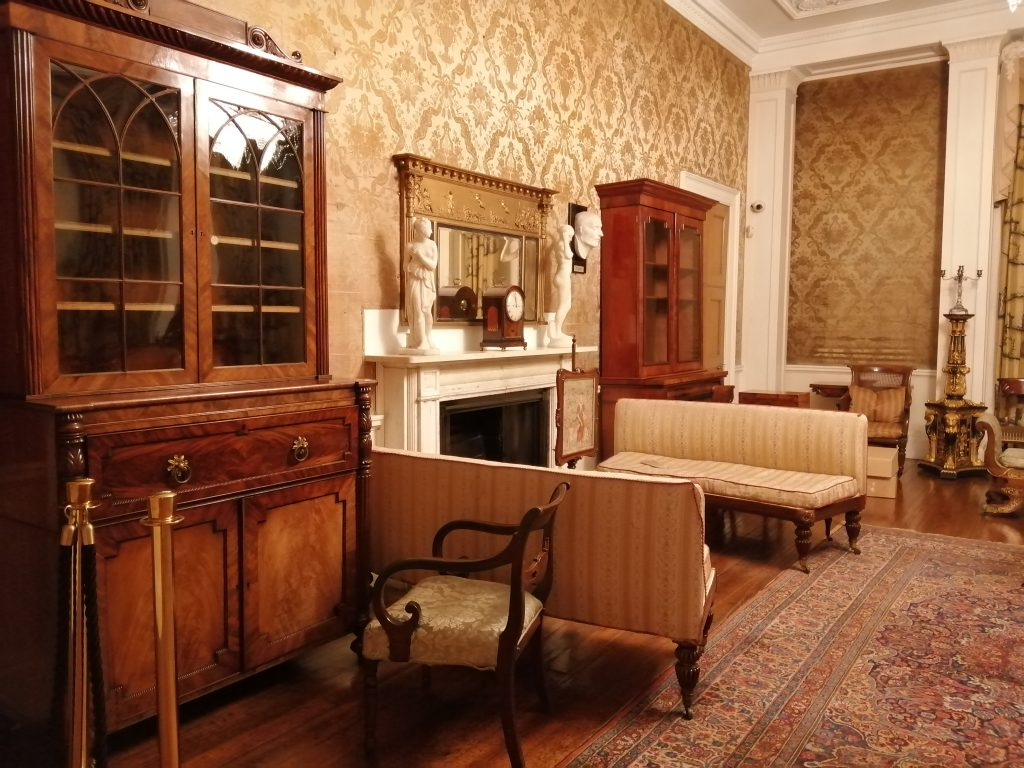 Humber Museums Partnership - Normanby Hall Regency Re-display – Ground floor part four