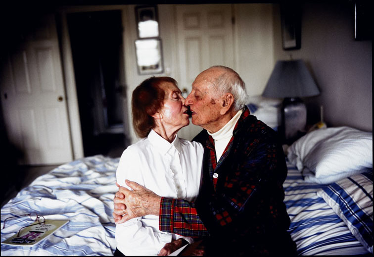 Humber Museums Partnership - Curator's Choice – My Parents Kissing… by Nan Goldin